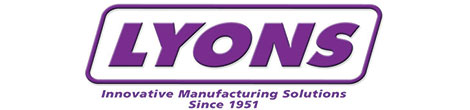 Lyons manufactures in house progressive dies with rapid prototyping for precision metal stamping